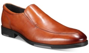 Alfani Wayde Water Resistant Moc-Toe Slip-On Loafers, Created for Macy's Men's Shoes