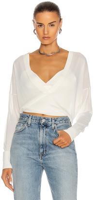 Dion Lee Loop Layered Sweater in White | FWRD