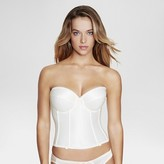 Dominique Satin Longline Bridal Bra #7750