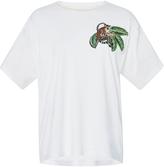 Oscar de la Renta Monkey Embellished T-Shirt