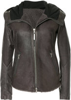 Isaac Sellam Experience zipped leather jacket