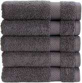 Christy Bamford Towel - Gun Metal - Face Cloth