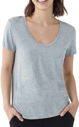 Splendid Sloane Short-Sleeve Scoop-Neck Tee