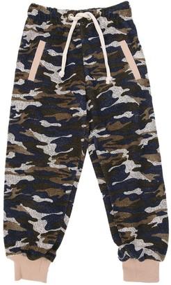 Duo Camo Cotton Jersey Sweatpants