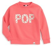 Molo Girl's Malena Pop Graphic Sweatshirt