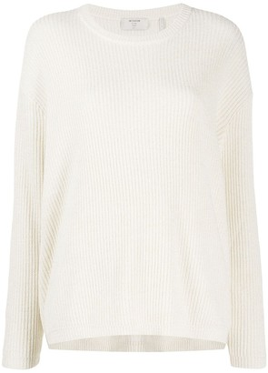 One Teaspoon Ribbed Knit Side Zip Jumper