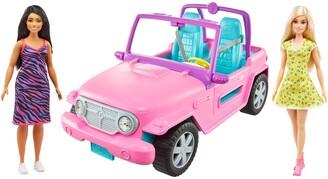 Mattel Barbie(R) Off-Road Vehicle & Dolls Set