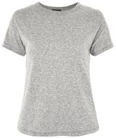 Topshop Marl short sleeve t-shirt