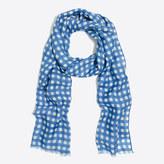 J.Crew Factory Printed scarf