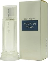 Laura Biagiotti Aqua Di Roma Perfume by for Women. Eau De Toilette Spray 3.3 Oz / 100 Ml.