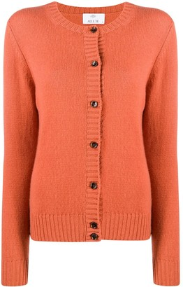 Allude Button-Down Cashmere Cardigan