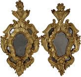 One Kings Lane Vintage Italian Baroque Giltwood Mirrors, Pair