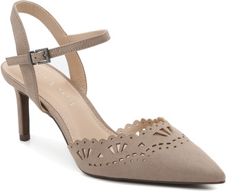 Kelly & Katie Women's Zabell Pumps Nude Size 5 Faux Suede From Sole Society