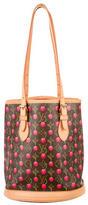 Louis Vuitton Monogram Cerises Bucket Bag