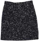Ungaro Grey, Black, & White Tweed Skirt