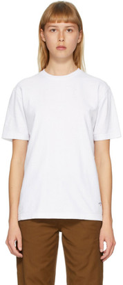 Noah NYC White Recycled Cotton T-Shirt