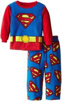 Superman Little Boys 2 Piece Polar Fleece Pajama Set
