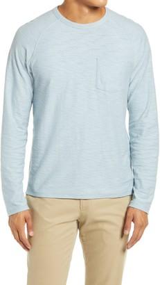 Vince Slim Fit Long Sleeve Pocket T-Shirt