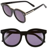 Karen Walker 'Super Duper Thistle' 52mm Retro Sunglasses
