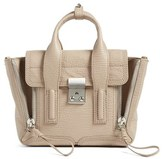 3.1 Phillip Lim 'Mini Pashli' Leather Satchel - Beige