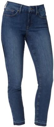 NYDJ Alina High-Rise Step Hem Ankle Jeans