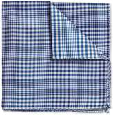 Royal Prince Of Wales Check Classic Silk Pocket Square by Charles Tyrwhitt