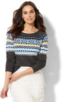 New York & Co. Fair Isle Sweater