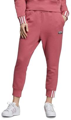 adidas Striped-Cuff Sweatpants