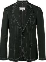 Maison Margiela topstitch detail blazer