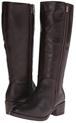 Eric Michael Lauren (Brown) Women's Zip Boots
