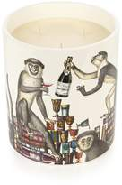 Fornasetti Scimmie Otto-scented large candle