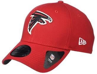 New Era NFL Team Classic 39THIRTY Flex Fit Cap - Atlanta Falcons (Scarlet) Baseball Caps