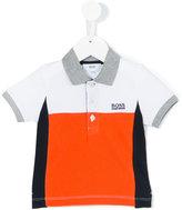 Boss Kids - classic polo shirt - kids - Cotton/Spandex/Elastane - 9 mth
