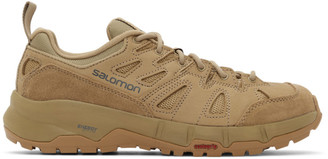 Salomon Beige Odyssey Advanced Sneakers