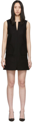 RED Valentino Black Sleeveless Shift Dress