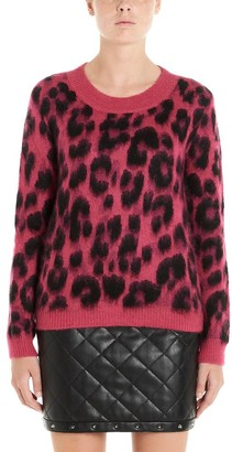Boutique Moschino Leopard Print Sweater