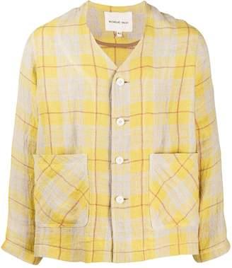Nicholas Daley Two Pocket Checked Shirt
