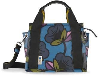 Orla Kiely Bromell Mini Shopper Bag, Kingfisher