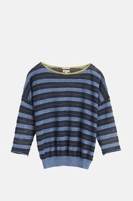 Bellerose Neep Knitted Sweater In Stripe B - L