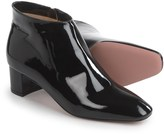a. testoni Patent Booties - Leather (For Women)