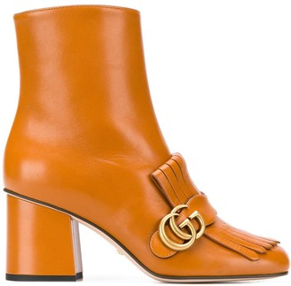 Gucci Marmont 70 ankle boots