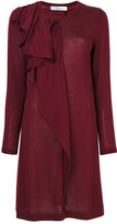 Blumarine frilled dress - women - Silk/Cashmere/Wool - 44