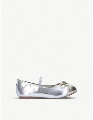 Kurt Geiger London Mini Esme metallic Mary Jane Shoe Ages 2-7
