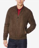 Perry Ellis Men's Faux Suede Jacket