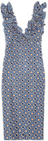 Marni Printed taffeta dress