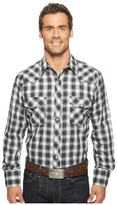Roper 921 Silver Mine Plaid with Silver Lurex Men's Clothing
