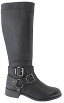 Pierre Dumas Black City Buckle Boot - Women