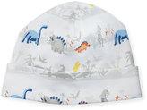 Kissy Kissy Jurassic Journey Pima Baby Hat, Gray