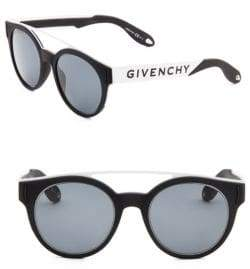 Givenchy 52mm Tinted Aviator Frame