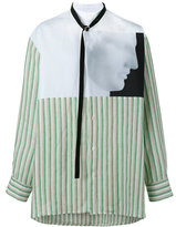 Raf Simons X Robert Mapplethorpe Ermes printed shirt